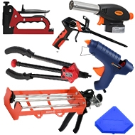 Инструменты для герметизации / склеивания / клепки / пайки и т.д.