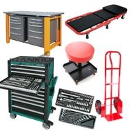 Įrankių spintelės / spintos/ gultai / kėdutės