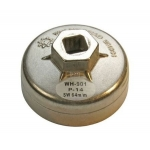 Lėkštelė tepalo filtrui aliumininė Toyota/Nissan 64 x P-14 (1042)