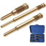 """Pakaitinimo žvakių lizdų plėtiklių/valiklių rinkinys M10 + 2x M12, 3 vnt """"Bgs-technic"""" (138)"""