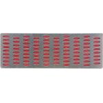 Galąstuvas deimantinis | perforuota plokštelė | 150 X 50 mm | P 300 (26132)