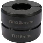 Atsarginis indėklas TH 16 mm presavimo replėms YT-21735 (YT-21744)