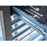 Profesionali įrankių spintelė | 245 įrankiai | 6 stalčiai (G10831)