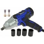 Veržliasukis smūginis elektrinis 1/2'' 720Nm su galvutėmis 17-22mm (G81053)