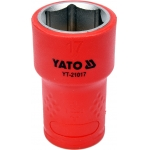 "Galvutė izoliuota 17 mm, 3/8"" VDE (YT-21017)"