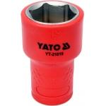 "Galvutė izoliuota 19 mm, 3/8"" VDE (YT-21019)"