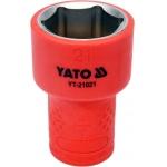 "Galvutė izoliuota 21 mm, 3/8"" VDE (YT-21021)"