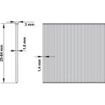 Pneumatinis viniamūšis 90°, 25-64mm (YT-0921)