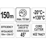 Sriegio hermetizavimo siūlas | 150 m (YT-29222)