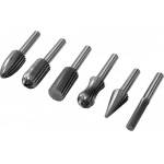 Kūginės frezos metalui | HSS | 6 vnt. (YT-61711)