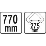 Žnyplės pernešimui | miško ir sodo darbams | 770 mm (YT-79907)