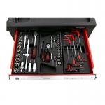Įrankių spintelė su įrankiais, su ratukais (KD361)