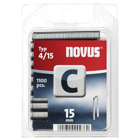 Kabės NOVUS | Tipas 4/15, 1100 vnt. (042-0390)