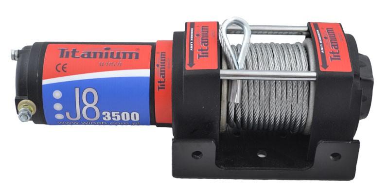 Elektrinė traukimo gervė 3500 lbs (12V) 1243