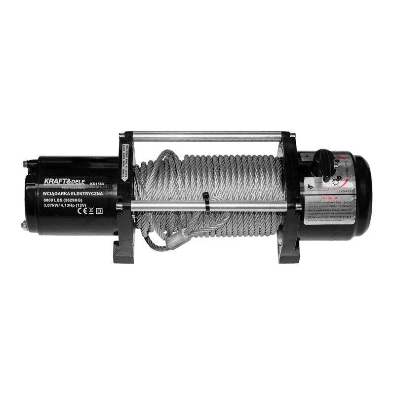 Gervė akumuliatorinė P8000L 8000lbs, 3629kg, 12V (KD1563)