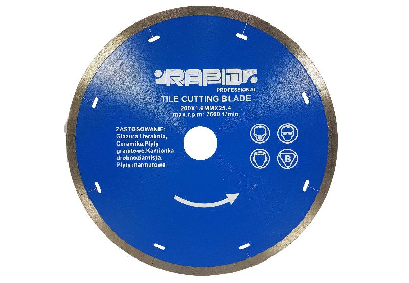 Deimantinis diskas 200x1.6x25.4mm RAPID (M08716)