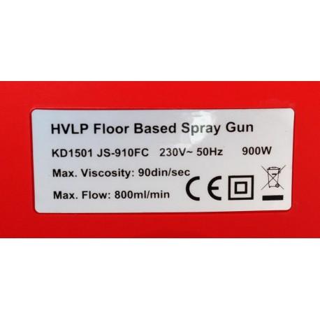 Nešiojamas dažymo pistoletas su kompresoriumi 900W (KD1501)