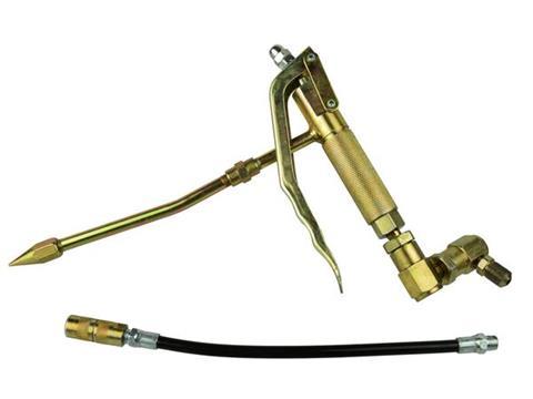 Pistoletas pneumatiniam švirkštui + metalinė ir guminė žarna (G01129A)