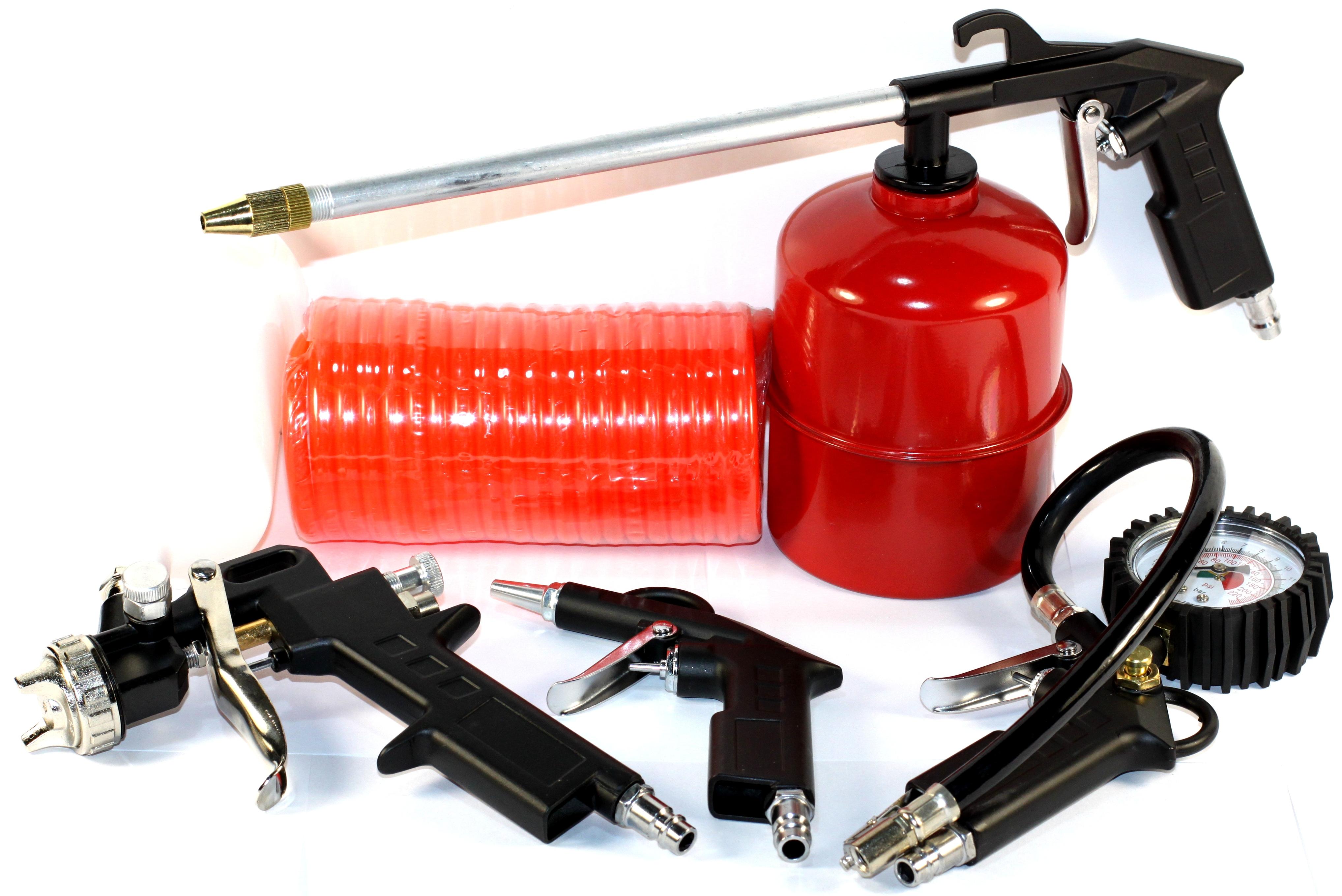 Набор пневмоинструмента STROM, 5 предметов (ST-002)