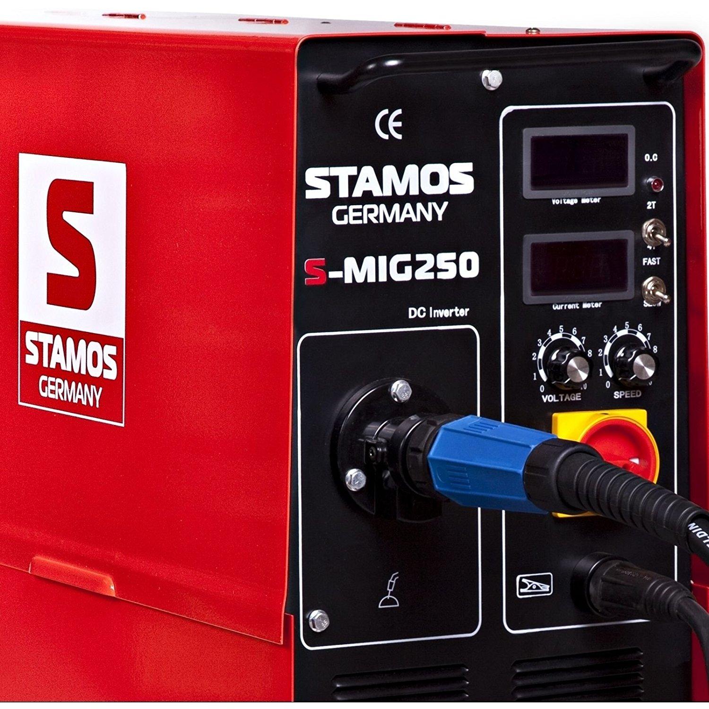 Suvirinimo pusautomatis S-MIG 250, 250A, 400V (2021)