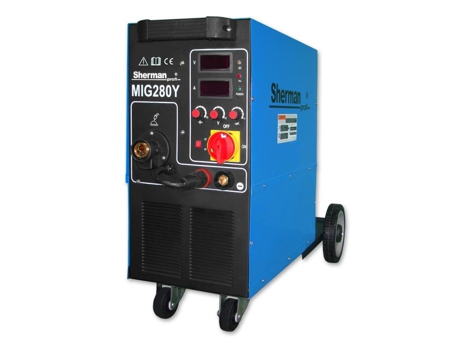 Сварочный полуавтомат MIG 280Y/4R, 280A, 400V (SINW-MIG280Y)