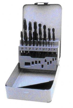 Grąžtų metalui rinkinys DIN338 19vnt. H19021