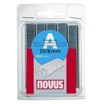 Kabės NOVUS | Tipas 53/8, 1000 vnt. (042-0741)
