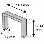 Metaliniai segtukai Nr.53 6mm (11Z106)