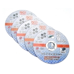 Pjovimo diskai iš nerūdijančiam plienui | Ø 115 x 1,0 x 22,2 mm | 5 vnt. (3935)