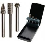 Volframo karbido deimantinių frezų rinkinys 6 mm, 3 vnt (SK8695)
