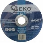 Pjovimo diskas metalui | 125x1.0x22,23 (SK00027)