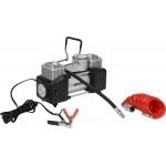 Kompresorius automobilinis | 2 cilindrai | Led lempa | 12V / 250W (YT-73462)