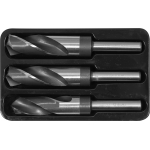Grąžtų metalui rinkinys   22 - 24 - 25 mm   3 vnt. (YT-44626)