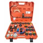 Radiatoriaus slėgio ir aušinimo sistemos testeris | 34 vnt. (PT34)