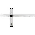 Kampainis reguliuojamas | aliuminis | 600 x 320 mm (18374)