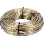 Muitinės trosas | plieninis | su antgaliu | 6 mm / 42 m (85005)