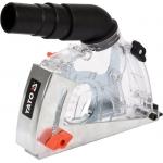 Pjovimo apsauga nuo dulkių | reuliuojama | M14 | 115 / 125 mm (YT-82992)