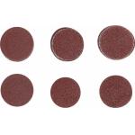 Šlifavimo padai / šlifavimo rinkinys | Ø 30 mm | K 60 - 80 - 120 | 30 vnt. (SK70193)