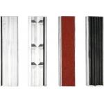 Spaustivų lūpų apsaugų rinkinys   aliuminis   125 mm (YT-65007)
