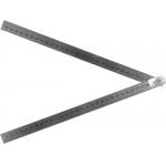 Liniuotė plieninė   lanksti   nerūdijantis plienas   2 segmentai   610 mm (19740)