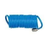 Pneumatinė žarna spiralinė | PE / su antgaliais | 5x8 mm | 15 m (50815PE)