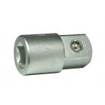 Adapteris 3/8'' (F) vidus 1/2'' (M) išorė L-46mm (80934)