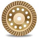 Deimantinis šlifavimo diskas | lėkštės tipo | turbo | 22.2x180 mm (DB0180B)