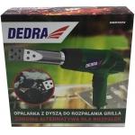 Techninis fenas su antgaliu griliui uždegti 1000/2000W DEDRA (DED7972)
