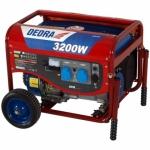 Benzininis generatorius Dedra DEGB3600K 3,2 kW