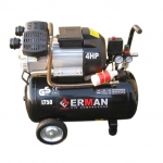 Oro kompresorius 50L, 2 cilindrai ERMAN 3,1kW (EM3050V)