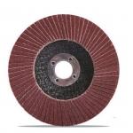 Šlifavimo diskas lapelinis | plokščios formos | P40 | 125X22,2 mm (ES813040)