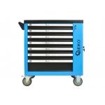 Profesionali įrankių spintelė   243 įrankiai   7 stalčiai (G10833)