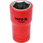"Galvutė izoliuota 16 mm, 3/8"" VDE (YT-21016)"