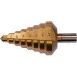 Grąžtas skylės (pa )platinimui pakopinis 10-45mm (YT-44742)